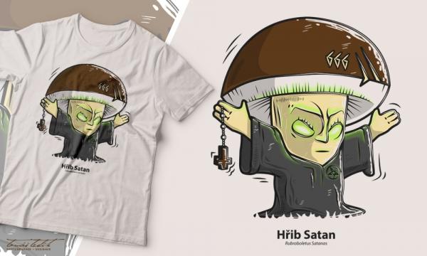 Detail návrhu Hřib Satan