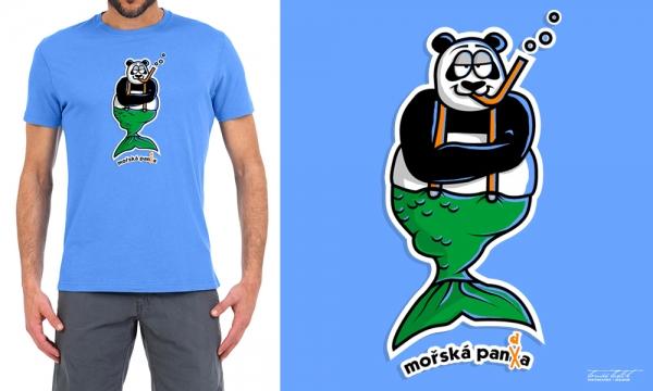 Detail návrhu Mořská panda