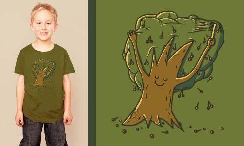 Detail návrhu Narcis Tree