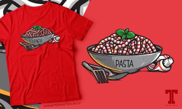 Detail návrhu Pasta