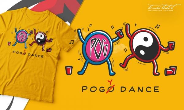 Detail návrhu Pogy Dance