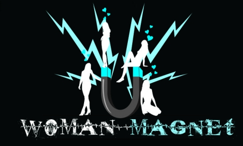 Detail návrhu Woman magnet