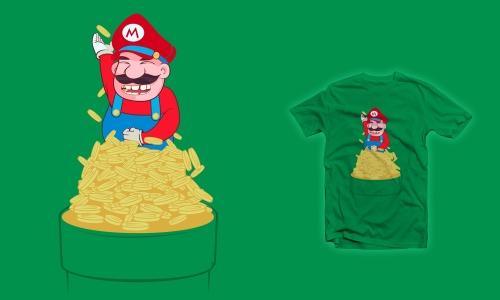 Detail návrhu It's a me! Mario!
