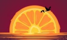 západ pomeranče