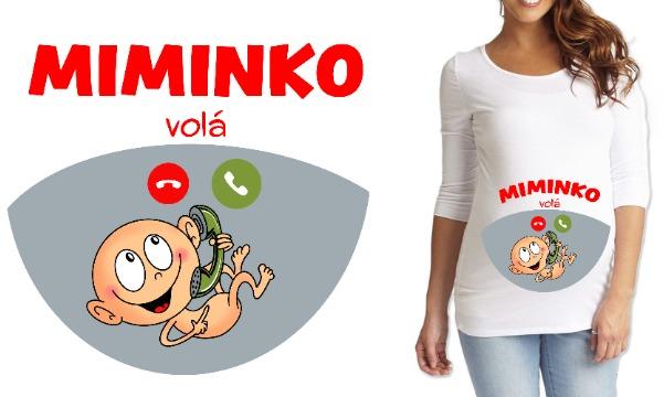 Detail návrhu Miminko volá