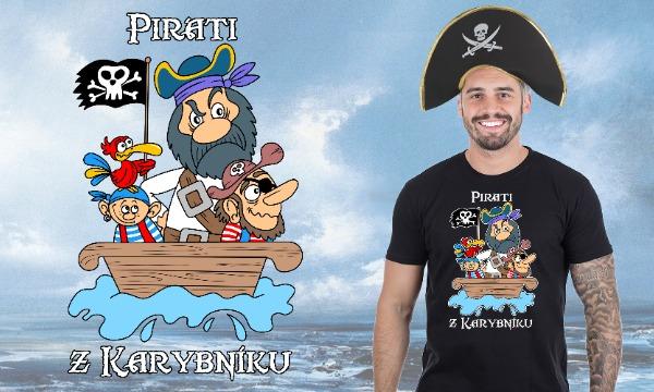 Detail návrhu Piráti z Karybníku