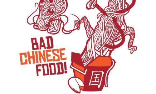 Detail návrhu bad chinese food