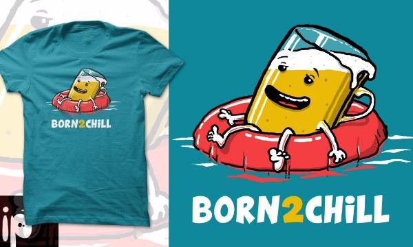 Detail návrhu Born 2 Chill