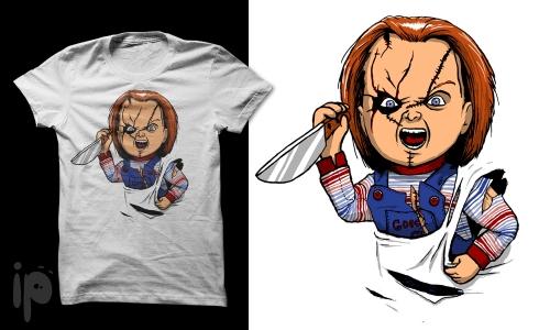 Detail návrhu Chucky