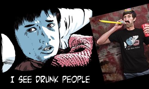 Detail návrhu Drunk People