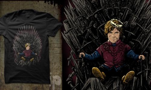 Detail návrhu King Tyrion