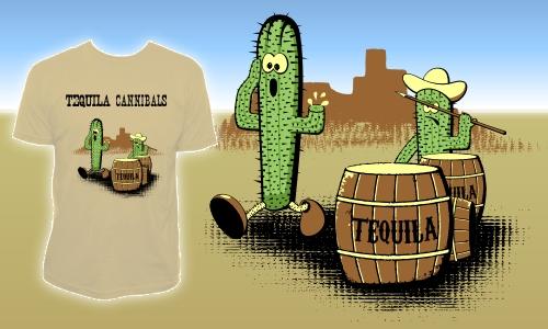 Detail návrhu Tequila cannibals