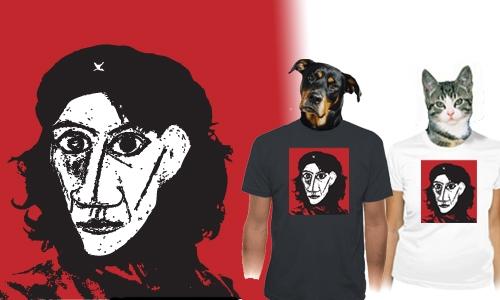 Detail návrhu Revolucionář Picasso