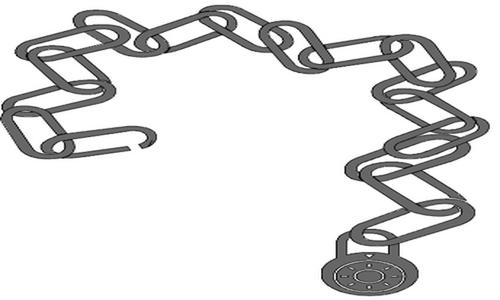 Detail návrhu Utrženej ze řetězu