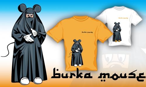 Detail návrhu Burka Mouse