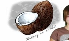 Kokosy na sněhu