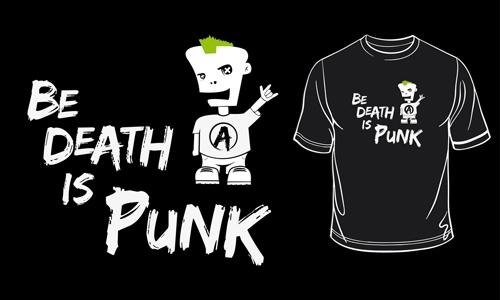 Detail návrhu Be Death is Punk!