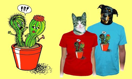 Detail návrhu kaktusy