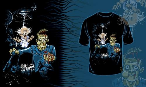 Detail návrhu Frankenstein