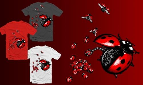 Detail návrhu Ladybird factory