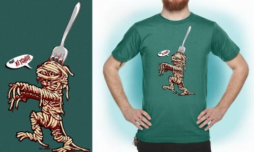 Detail návrhu Špagety