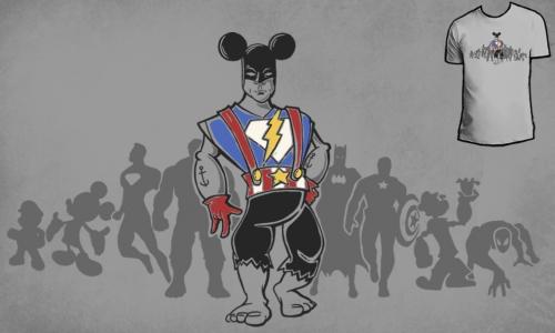Detail návrhu A Hero
