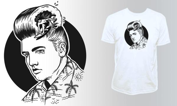 Detail návrhu Elvis style