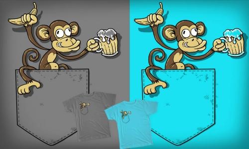 Detail návrhu Opice