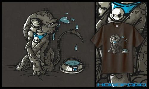 Detail návrhu Alien_ nejlepší přítel člověka.