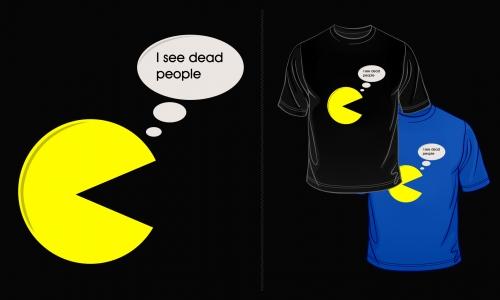 Detail návrhu Scared Pacman