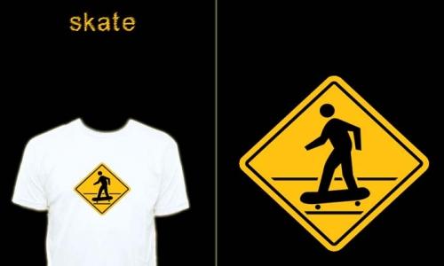 Detail návrhu Skate