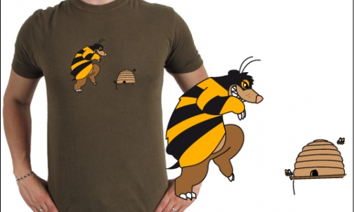 Detail návrhu pan včelka