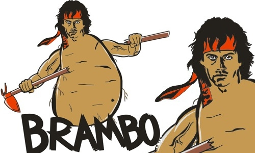Detail návrhu Brambo - remake