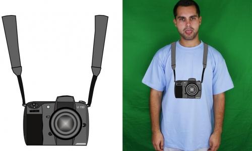 Detail návrhu permanentní fotograf