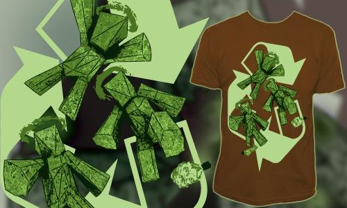 Detail návrhu Green Holy Trinity