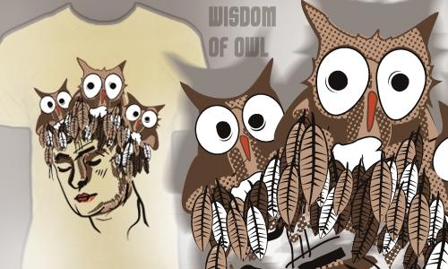 Detail návrhu Soví moudrost