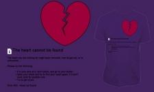 error 404 Heart not found