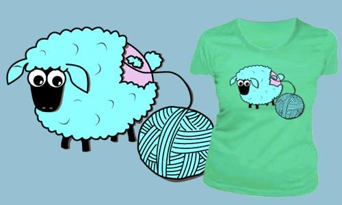 Detail návrhu sheep