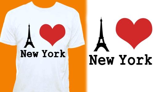 Detail návrhu I LOVE NY 2