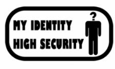 My identity, high security