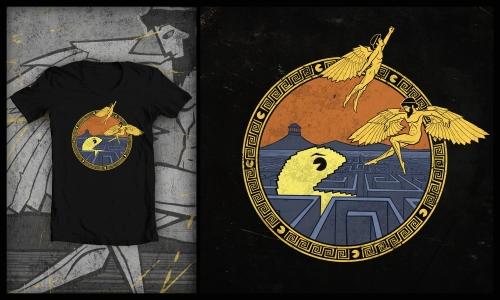 Detail návrhu Daedalus and Icarus