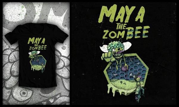 Detail návrhu Maya The ZomBEE