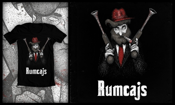 Detail návrhu Rumcajs