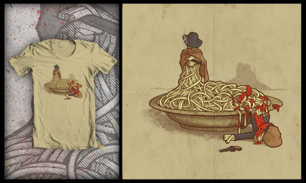 Detail návrhu Špagety Western
