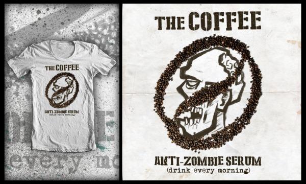 Detail návrhu The Coffee