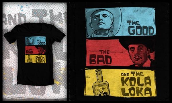 Detail návrhu The Good, The Bad and The Kolaloka