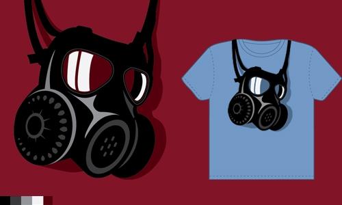 Detail návrhu Gas mask