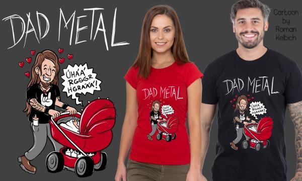 Detail návrhu Dad metal