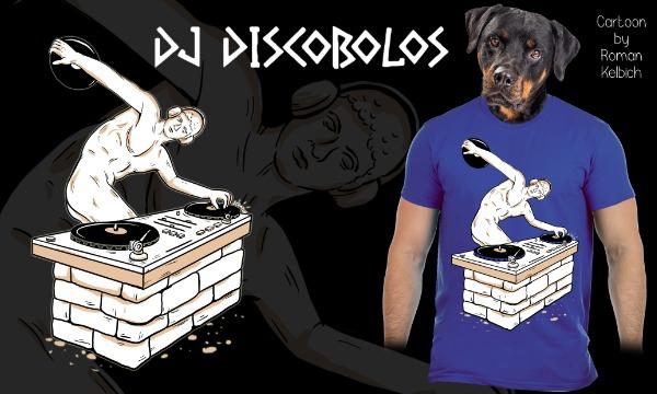 Detail návrhu DJ DISCOBOLOS