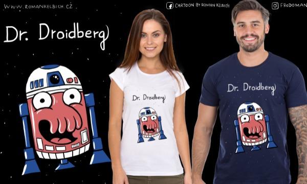 Detail návrhu Dr. Droidberg